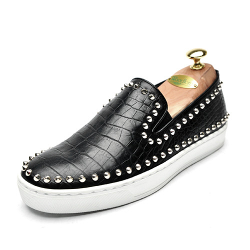 5cm Crochet Stud Slip-on Shoes Hand made shoes (Stud_CH0026)