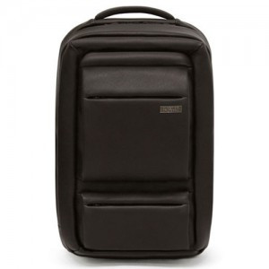 Round Double Pocket Leather BackPack (sbbp044br)