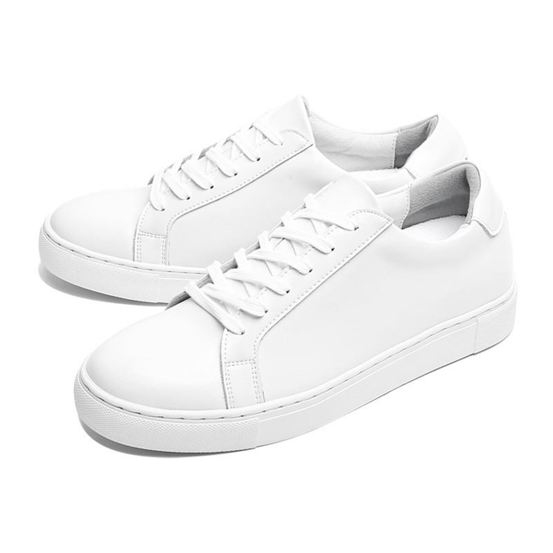 5.5cm Basic Leather Sneakers (CL0004)