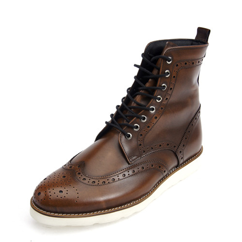 8cm Wingtip Ado Room Brown Walker Handmade (EL0137ABR)