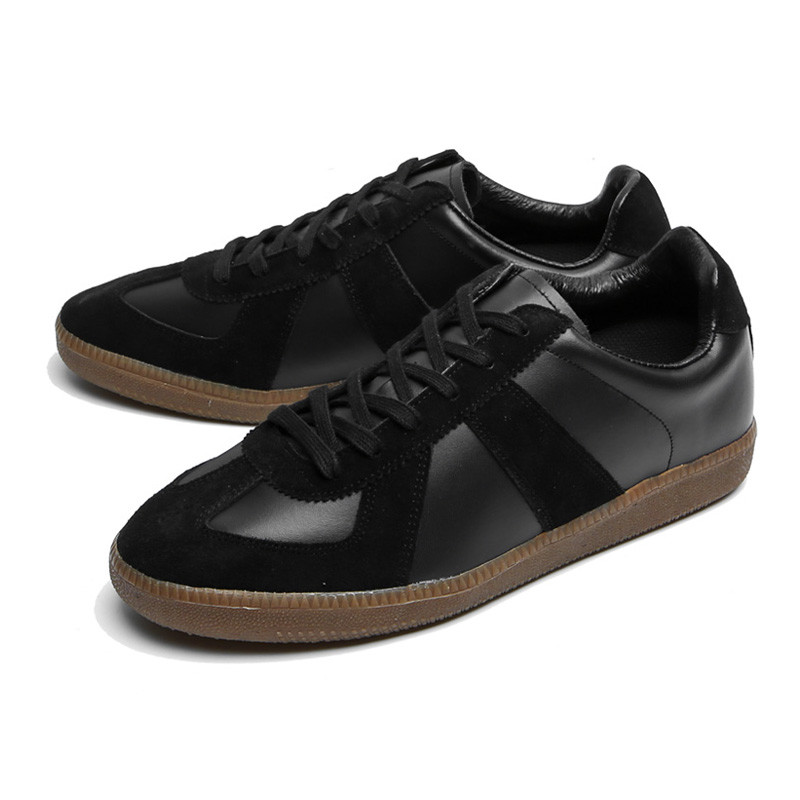 5cm German Leather Sneakers (CL0006BK)