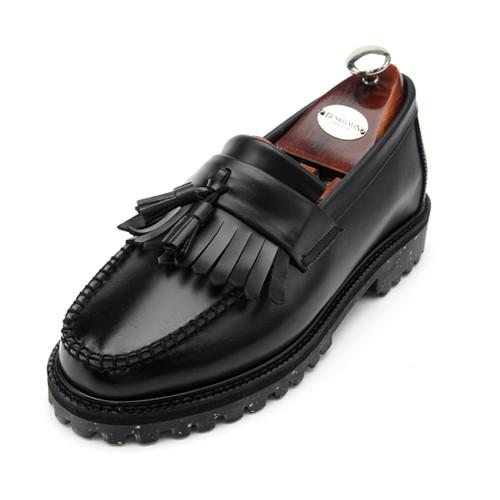 7cm Yutip Crack Solstice Looper Hand made shoes (EL0153BK)