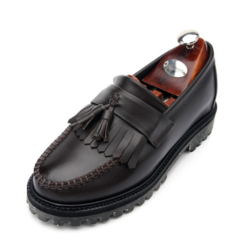 7cm Yutip Crack Solstice Looper Hand made shoes (EL0153BR)