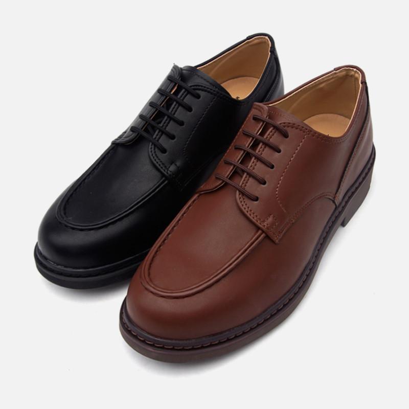 4.5cm Basic Yuft Derby Shoes (AR0048)