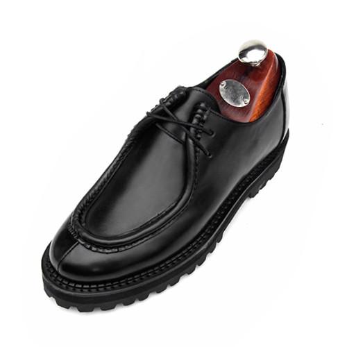 6cm Tirolian Clipper Yutip Hand made shoes (CH0048BK)
