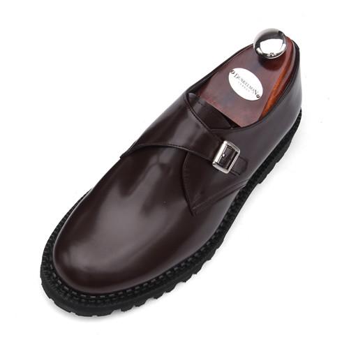 7cm COMANDO Monk Strap Hand made shoes (EL0159WN)