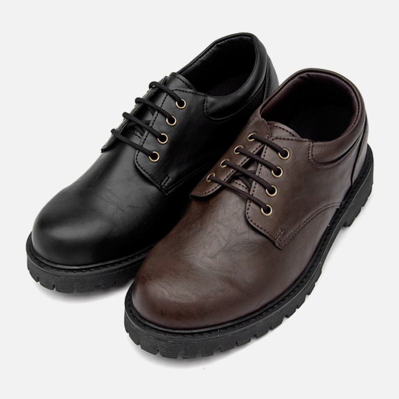 6.5cm Rough Leather Casual Shoes (JY0082)