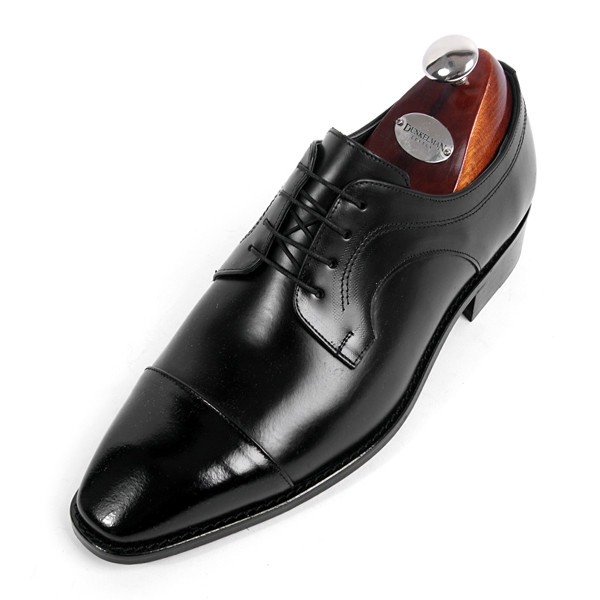 8.5cm Straight Tip Oxford Hand made shoes (EL0161BK)