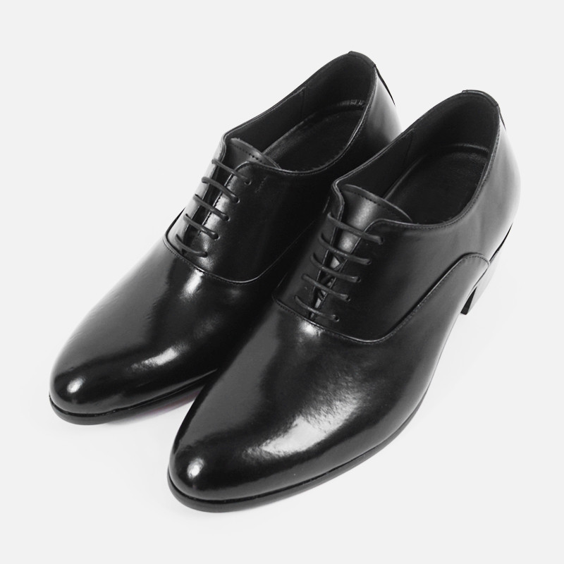 7cm Height increase Balmoral Cowhide Classic Shoes (ZE0143)