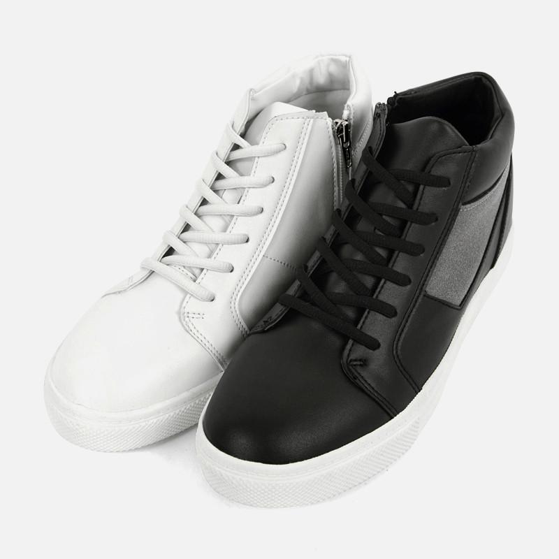 5cm Zipper Hightops Sneakers (AR0068)