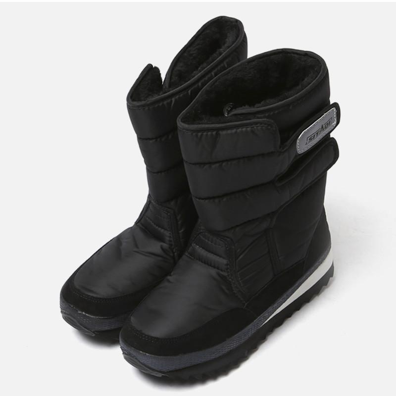 5cm Black Snow Fur Boots (ZE0183)