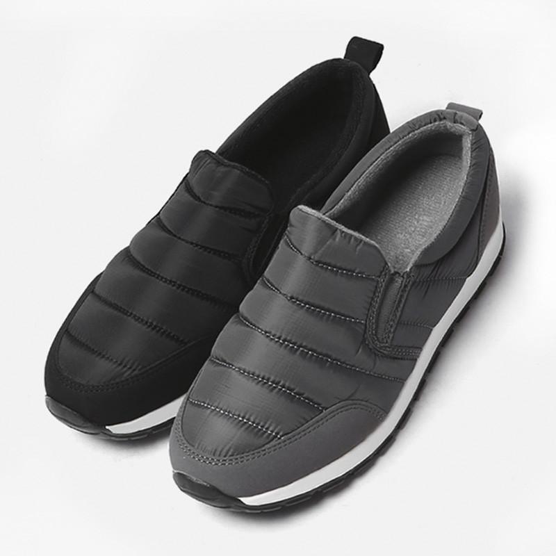 3.5cm Winter Padding Couples Slip-on Shoes Shoes (ZE0189)