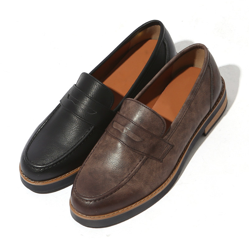 3.5cm Modern Daily Penny Loafers (ZE0194)
