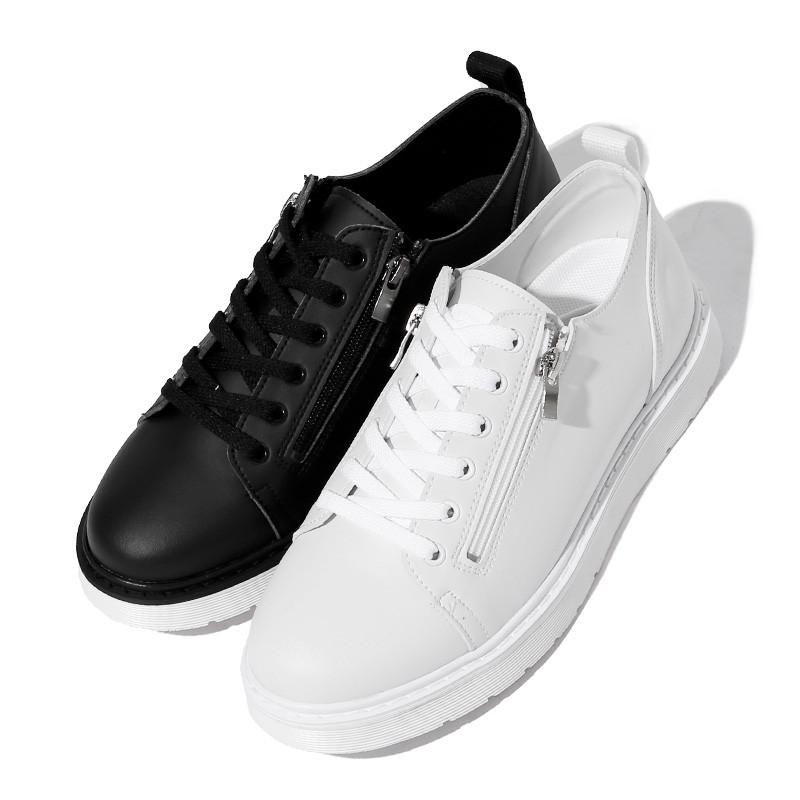 3.5cm Alcan Zipper Sneakers (ZE0199)