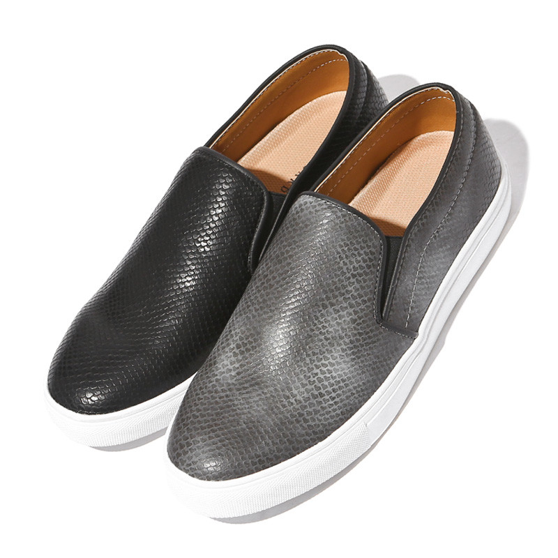 3cm Snake skin Kamome Slip-on Shoes (DA0110)