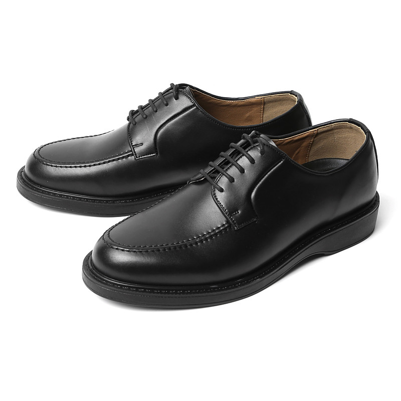3.8cm Real Leather Yuft Derby Shoes (ASTON_CR0002)