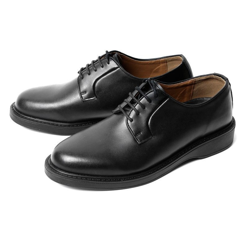 3.8cm Real Leather Plain to Derby Shoes (COMFORT_CR0003)