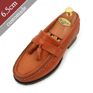 6.5cm Height increase tether roper Hand made shoes (EL0038BR)