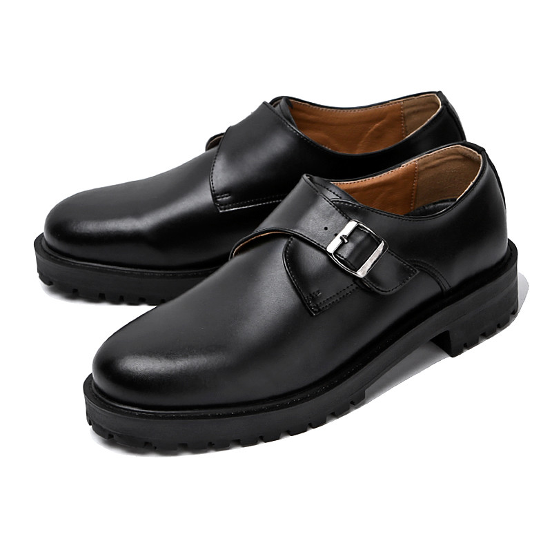 4.5cm Real Leather single Monk Strap (ALBLE_CR0009)